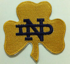 NOTRE DAME FIGHTING IRISH COLLEGE Embroidered IRON ON PATCH