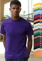 Fruit Of The Loom Einfache Baumwolle Valueweight T-Shirt S-M-L-XL-XXL-XXXL-XXXXL