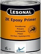 Pintura Epoxi lesonal 2K 1L con 500ml De Endurecedor Epoxi