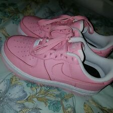 Nike Pink Air Force 1s iD Custom Made UK 3.5 Rare Unique Pastel US 4 5.5 EUR 36