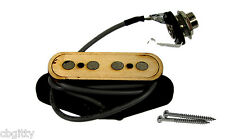 """Electric Delta"" 4-pole Cigar Box Guitar Pickup by Foundry-Tone - 54-048-01"