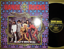 HANOI ROCK, THE BEST OF HANOI ROCK, LP 1985 UK 1ST PRESS A2/B1 EX-/EX