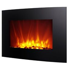 """Homegear 2KW 35"""" Wall Mounted 2-in-1 Electric Fireplace/Heater w/ Remote Control"""