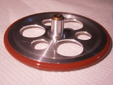 Lenco NEW IDLER WHEEL LENCO L75  L78 SHAFT 2.45 PULEGGIA LENCO  L78 75  2.45