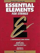 Essential Elements for String Bk. 1 : Double Bass by Michael Allen and Robert...