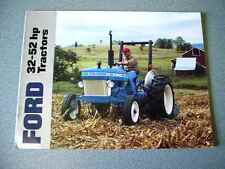 Ford 2810, 2910, 3910, 4610, 4610SU, 2110 Farm Tractor brochure               lw