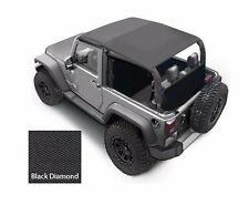 Smittybilt Extended Top in Black Diamond 2007-2009 2dr Jeep Wrangler JK 94135