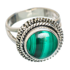 Malachite 925 Sterling Silver Ring Size 6 Ana Co Jewelry R778400F