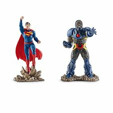 Dc Comic's Justice League Superman Vs. Darkseid 2 Pack Pvc Figurine