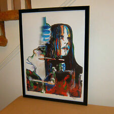 Joey Jordison, Slipknot, Drums, Percussion, Heavy Metal, Rock 18x24 POSTER w/COA
