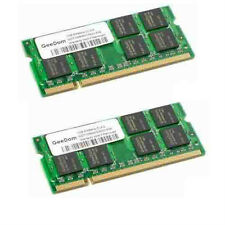 2GB (2X1GB) 200p PC2-6400 CL6 DDR2-800 SODIMM, Samsung-Hynix -Apple RAM