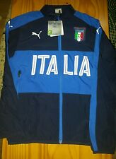 Italy Track Jacket - Official Puma Boys Football Training Wear -size 11-12 years