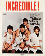 "The Beatles Butcher Cover Promo Poster Replica 14 x 11"" Photo Print"