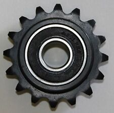 """HEAVY DUTY ROLLER CHAIN SPROCKET IDLER 16 TOOTH #35 CHAIN 1/2"""" BORE. USA!!"""