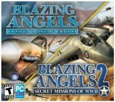 2 NEW PC Blazing Angels: Squadrons Of WWII + Secret Missions Dogfight Shooter