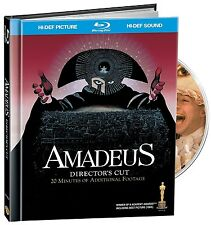 Amadeus (Blu-ray + bonus CD) Director's Cut NEW sold as is