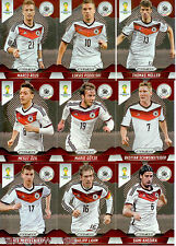 2014 Brasil FIFA World Cup Soccer Prism Card Base Team Set Germany (11)