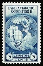 1933 3c Byrd, Antartic Expedition Scott 733 Mint F/VF NH