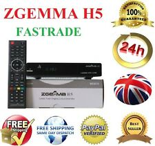 New Zgemma H5 Satellite Receiver Dual Core Linux OS DVB-S2 + Hybrid DVB-T2 HD