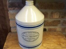 Red Wing 1 Gallon Advertising Jug Contra Costa Wine Co., Chicago, Mint Condition