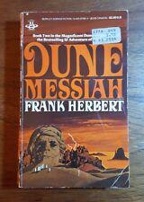 Dune Messiah,Frank Herbert,(1984),46th printing, Berkley, PB