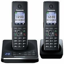 Panasonic KX-TG8562EB Twin Corldess DECT Telephone. Two Handset!.