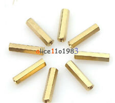 10pcs M3 12 mm Hexagonal net nut Female brass Standoff/Spacer