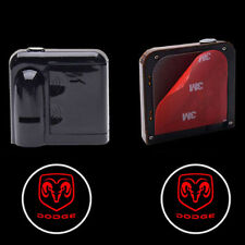 1Pair Wireless Car Door LED Projector Logo Ghost Shadow Laser Lights for Dodge
