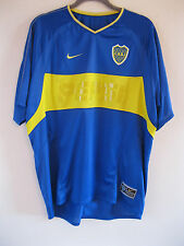 Boca Juniors 2003 Nike Pepsi Blue Adult Argentina Home Football Shirt. Size M
