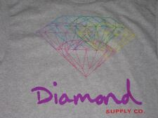 Diamond Supply Co All For One Multi Diamond Large L Un-Polo Cassie Grey Grizzly