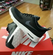 NIKE WOMEN AIR MAX THEA TXT 819639 005 BLACK/DARK GREY-WHITE  WOMEN US SZ 7