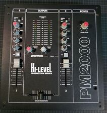 Hi- Level PM 2000