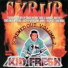 Kid Fresh: Screwed Out 2:Syrup Explicit Lyrics Audio Cassette
