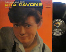 ► Rita Pavone - The International Teen-age Sensation (RCA LPM 2900) (Mono) ('64)