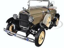1931 FORD MODEL A ROADSTER STONE BROWN 1/18 DIECAST MODEL CAR BY SUNSTAR 6120