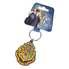 Harry Potter Hogwart's Crest Soft Touch PVC Keychain
