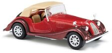 HO Busch Metallic Red 1968 Morgan Plus 8 Convertible ; 1/87 Model Car #  47115