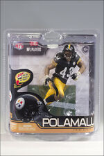 McFarlane NFL Series 29 Troy Polamalu Pittsburgh Steelers Black Jersey Figure