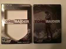 Tomb Raider -Special Edition Steelbook (Sony PS3,2013) COMPLETE! GREAT CONDITION