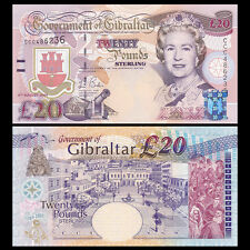 Gibraltar 20 pounds, 2004, P-31, Commemorative 300th, UNC