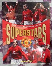 Tow, Rebecca The Official Manchester United Superstars 2002 Man Utd