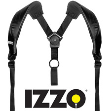 """NEW 2017"" IZZO GOLF BAG COMFORT / SWIVEL  DUAL CARRY GOLF BAG CARRY STRAP"