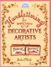 Handlettering for Decorative Artists (Decorative Painting), O'Keefe, Jackie, Goo