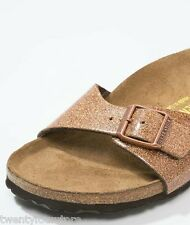 NEW Birkenstock Sandals Madrid Magic Galaxy Bronze Glitter sz 39 9 Narrow