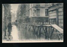 France PARIS Inondations Floods 1910 Rue de Beaune Loius Levy LL PPC