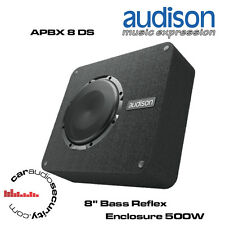 "Audison APBX 8 DS - 8"" Bass Reflex Enclosure Box Bass Subewoofer 500W"