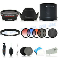 Wide Angle Lens Adapter Graduated Colour Filters Kit FOR Nikon COOLPIX L820 L830