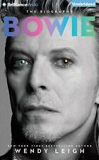 Bowie : The Biography by Wendy Leigh (2015, CD, Unabridged)
