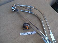 NEW BICYCLE 26'' BENT FORK WITH HEADSET FOR LOW RIDER, CRUISER, CHOPPER, ETC