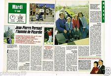 Coupure de presse Clipping 1988 (2 pages) Jean Pierre Pernaut